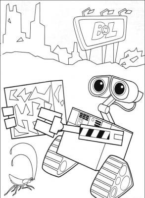 WALL-E (stylized with an interpunct as WALL·E) is a 2008 American computer-animated science fiction comedy film produced by Pixar Animation Studios for Walt Disney Pictures.